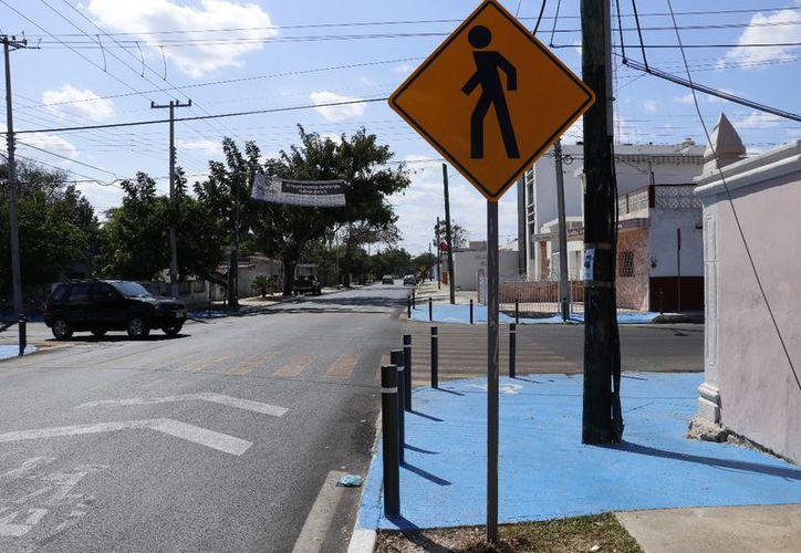 La calle 65 es utilizada para ingresar al centro de la ciudad y fue remodelada en una gran extensión. (Jorge Acosta/Milenio Novedades)