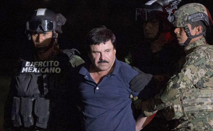 EU y México negocian la repartición de la fortuna que Joaquín Archivaldo Guzmán Loera ha logrado acumular como  producto de las actividades ilícitas en ambos lados de la frontera. (Archivo/Agencias)