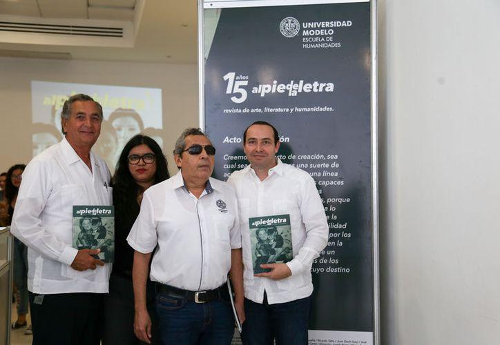 La revista tiene un carácter universitario y cultural y en ella colaboran profesores y alumnos de la Institución. (Foto: Cortesía)