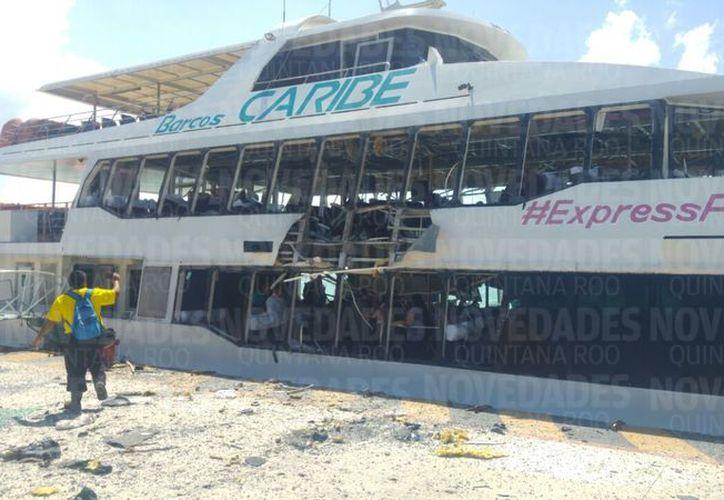 Los hechos ocurrieron en el muelle fiscal de Playa del Carmen. (Redacción)