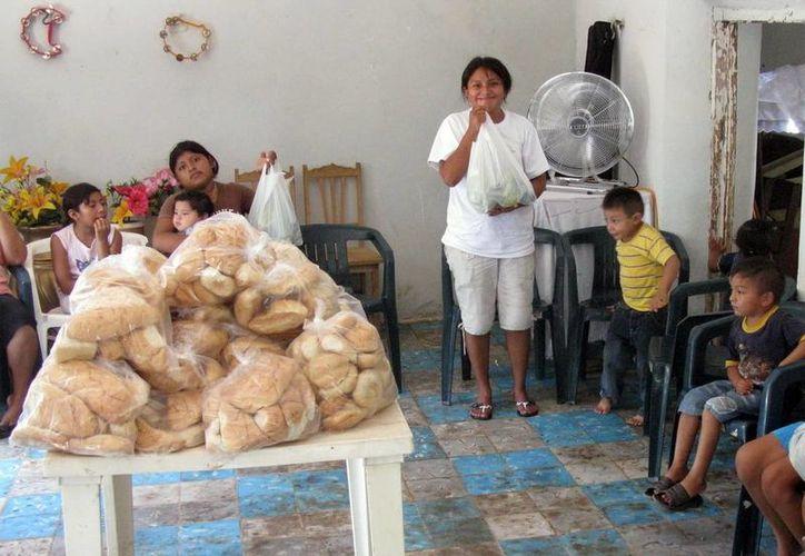 Respaldan alimentación de poblaciones mayahablantes. (Milenio Novedades)