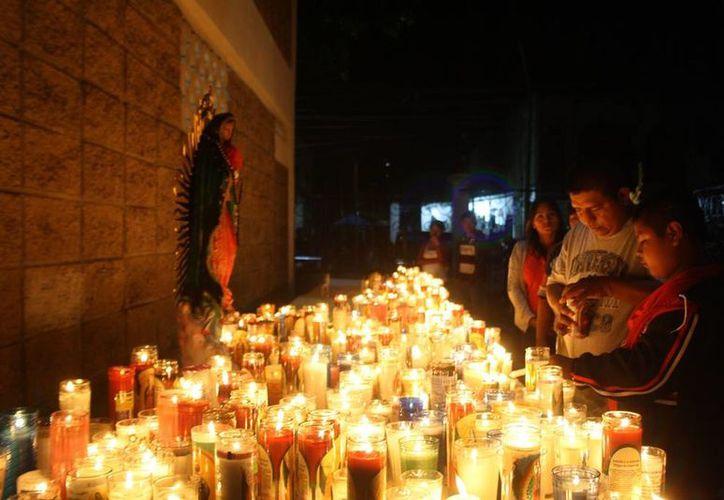 Durante las misas por los festejos de la aparición de la Virgen de Guadalupe, se pedirá por la paz en el país. (Octavio Martínez/SIPSE)