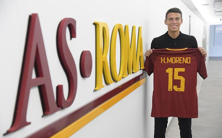 Héctor Moreno ya inició su aventura por uno de los grandes clubes de Italia. (Foto: Twitter)