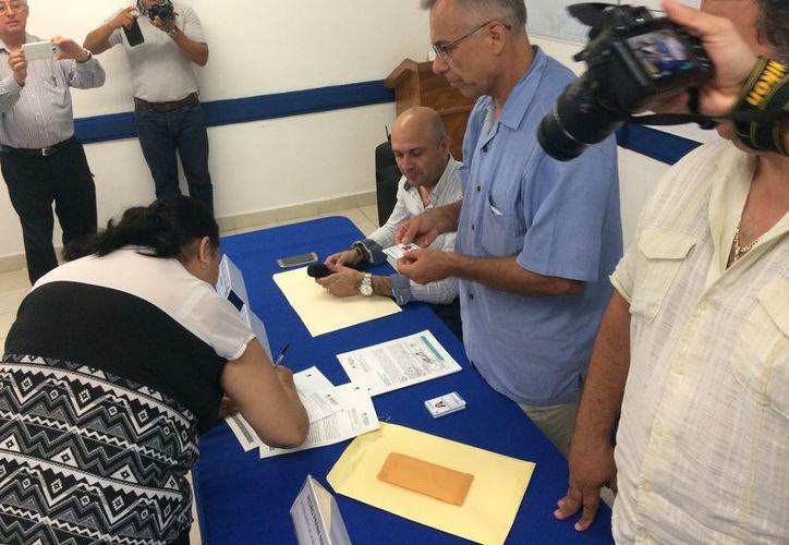 La Canaco llevó a cabo la entrega de certificados a los integrantes de la quinta generación. (Adrián barreto/SIPSE)