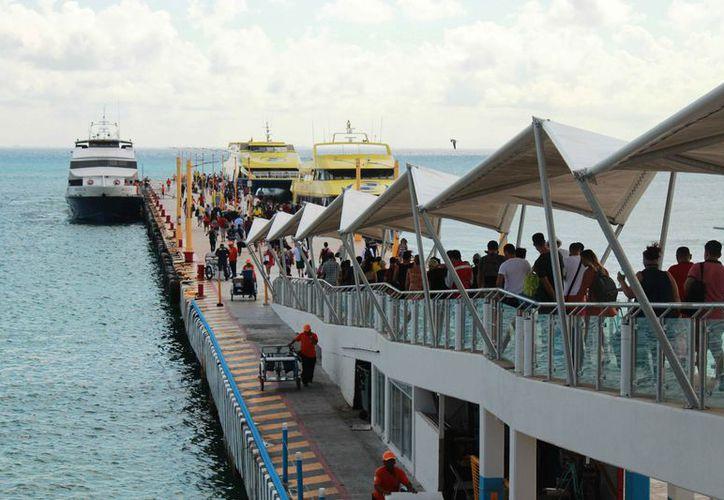 A pesar de los incidentes que ocurrieron en el recinto durante el 2018 no afectaron la afluencia de pasajeros. (Octavio Martínez/SIPSE)