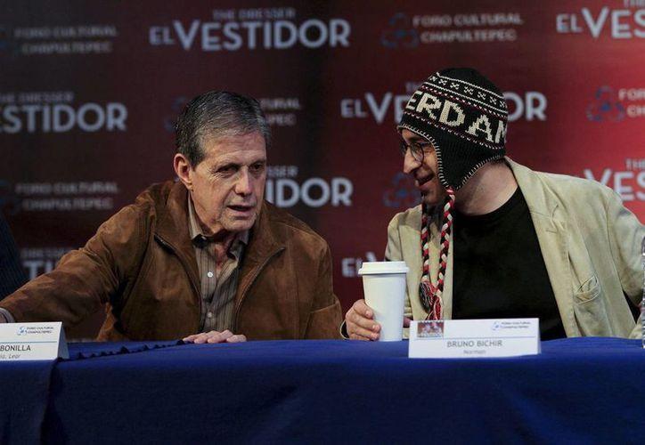 """En """"El Vestidor"""", Bonilla (i) hará a """"Su señoría Lear"""", que en esa época interpretó López Tarso, mientras que Bruno Bichir dará vida a """"Norman"""". (Notimex)"""