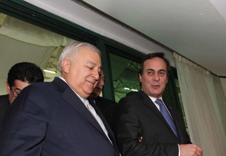 Chuayffet acudió a la reunión de Coparmex, presidida por el líder de la organización, Juan Pablo Castañón. (Notimex)