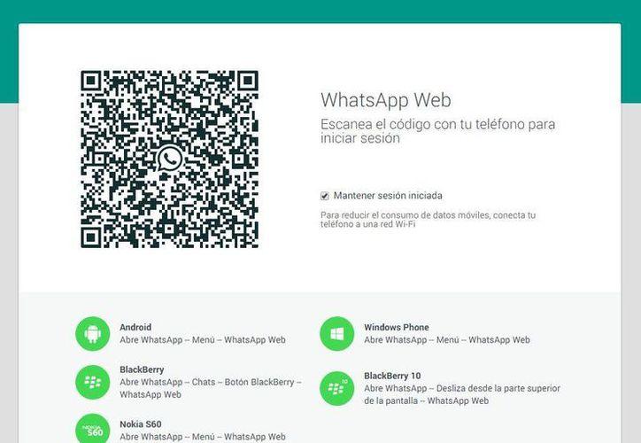 La última versión de WhatsApp, que incluye la extensión para web, ya se encuentra disponible en Google Play. (Captura de pantalla/WhatsApp Web)