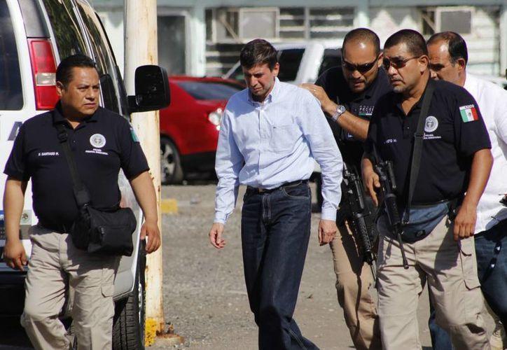 José Manuel Sáiz Pineda fue recluido la noche del domingo pasado en el Centro del Readaptación Social del Estado de Tabasco. (Archivo/Notimex)
