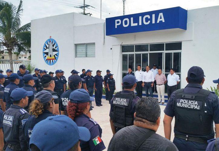 Mejoran equipamiento e infraestructura en la Policía Municipal. (Cortesía)