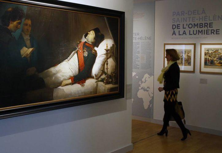 La exposición estará abierta del seis de abril al 24 de julio en el Museo Militar Nacional ubicado en París. (Imágenes de AP)