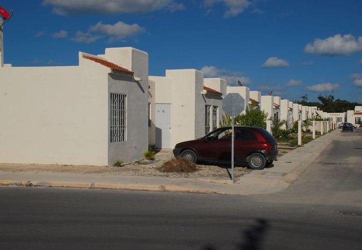 Planean edificar las viviendas en la Región 205. (Tomás Álvarez/SIPSE)