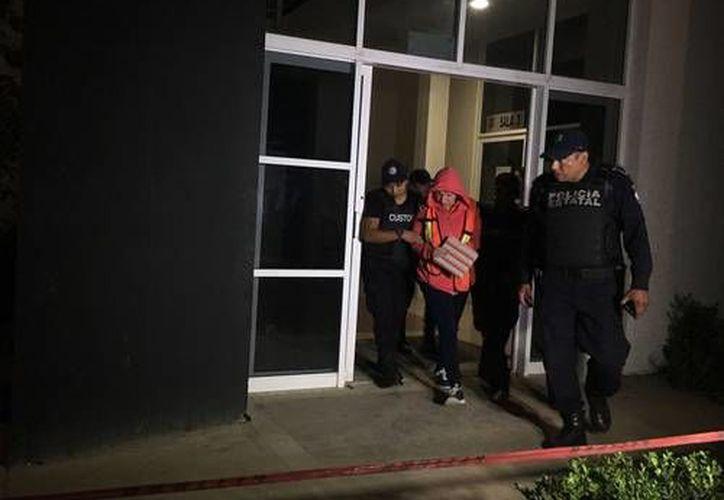 La priísta Georgina Domínguez Colío, acusada de desviar 5 mil millones de pesos en Veracruz. (La Jornada)