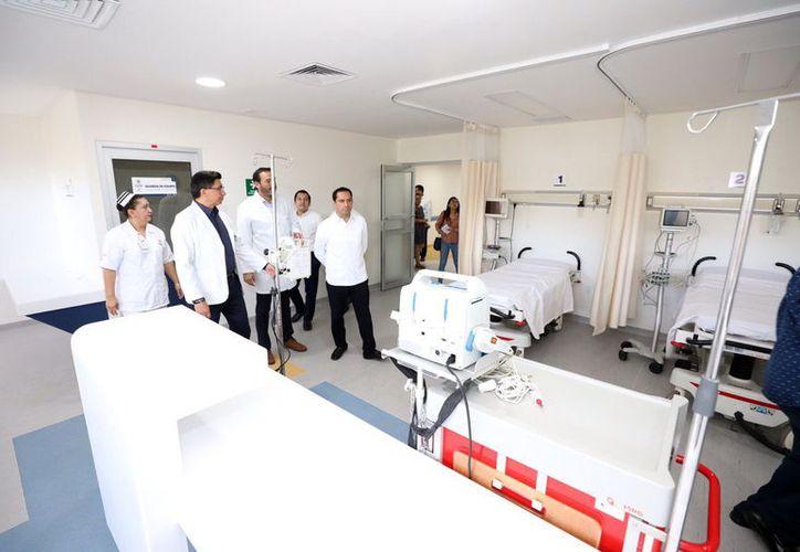 Los pacientes recibirán una mejor atención médica en el Hospital O'Horán. (Novedades Yucatán)
