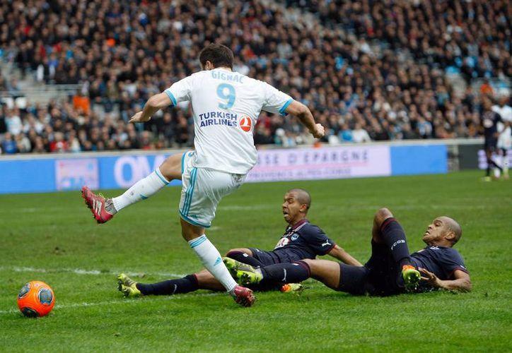 Por el empate 2-2, Bordeaux se queda en cuarto lugar de la tabla de posiciones y Marsella en el sexto. (Agencias)