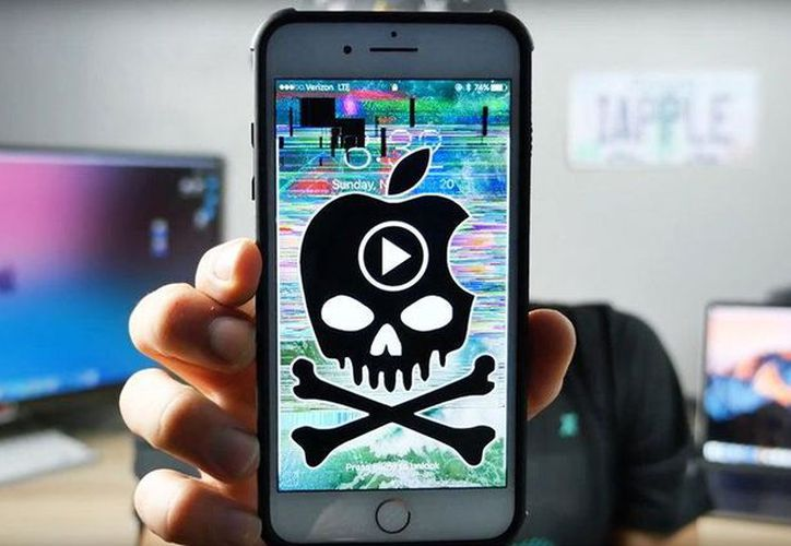 El bug ocurre cuando recibimos un mensaje con un carácter específico.  (YouTube: Everything Apple Pro)