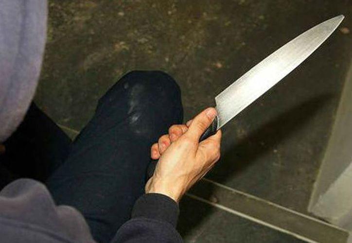 "Ricardo M. G. (a) ""Cebollón"" fue apuñalado por un ""sureño"", luego de golpear a uno de sus amigos. (Contexto/Internet)."