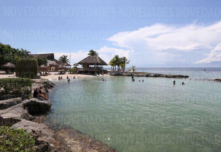 Los arrecifes de la zona de Chankanaab son los más afectados hasta el momento. (Gustavo Villegas/SIPSE)