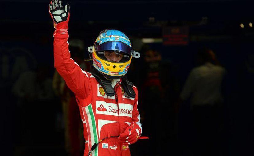 El campeón español Fernando Alonso. (Agencias)
