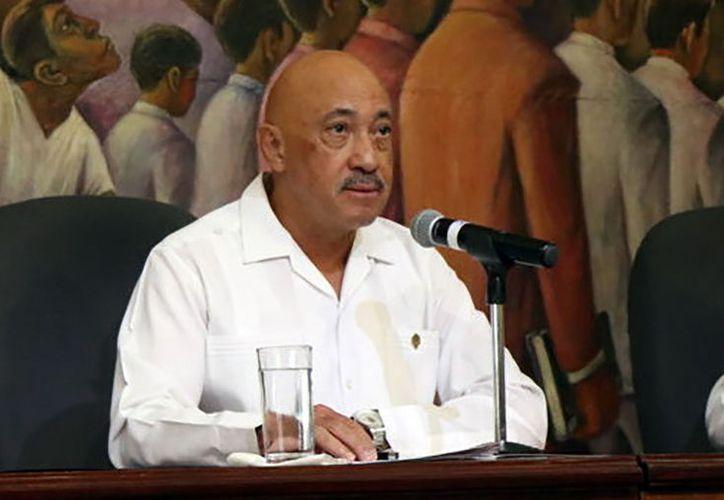 José de Jesús Williams, rector de la Universidad Autónoma de Yucatán (Uady).