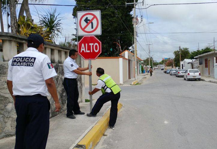 La jornada tiene como objetivo proteger a los peatones y a los conductores. (SIPSE)