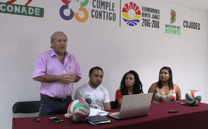 En conferencia de presa mencionaron que el nivel competitivo del evento será de primera. (Raúl Caballero/SIPSE)