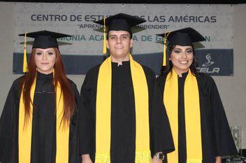 Graduación de las Licenciaturas  de Diseño de Interiores y Diseño Gráfico y Publicitario