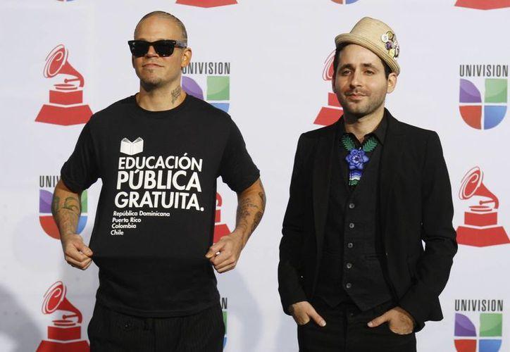 """Calle 13 presentará su """"Multi_Viral"""" en marzo próximo en Argentina y seguirá con Paraguay, Uruguay, Chile, Venezuela, Colombia, Costa Rica y México. (Agencias)"""