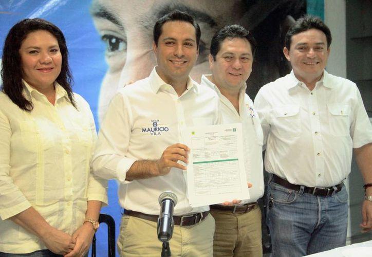 Mauricio Vila, aspirante a alcalde de Mérida por el PAN, señala que realizará una campaña propositiva, apegada a la realidad e incluyente. (SIPSE)