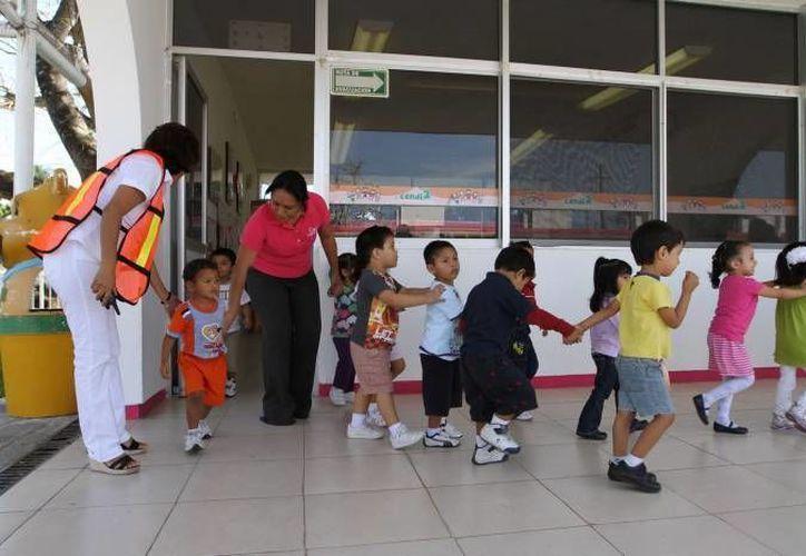 Los infantes de dos a siete años de edad son los más vulnerables a las quemaduras. (Gerardo Amaro/SIPSE)