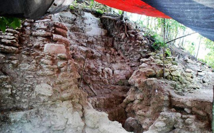La zona arqueológica Ichkabal aún requiere de investigación arqueológica por parte del INAH. (Carlos Horta/SIPSE)