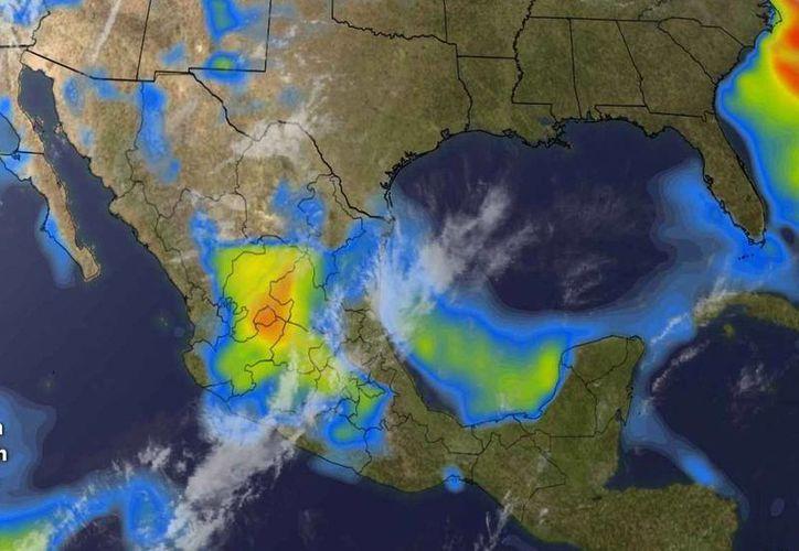La probabilidad de lluvias en Cancún es del 50%. (Conagua)