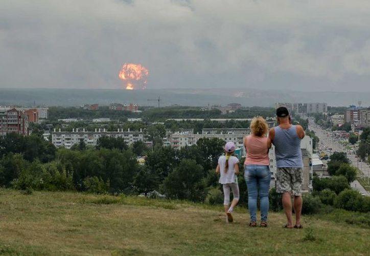 Greenpeace calcula un aumento de 20 veces en el nivel de radiación nuclear. (AP)
