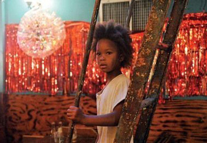 Quvenzhané Wallis es la actriz más joven nominada al Oscar. (Agencias)