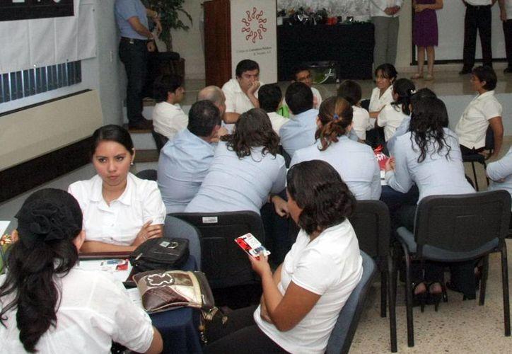 En Mérida se establecerán jornadas de trabajo para difundir entre el sector empresarial los beneficios de los servicios que ofrecen los corredores públicos en materia mercantil.(Milenio Novedades)