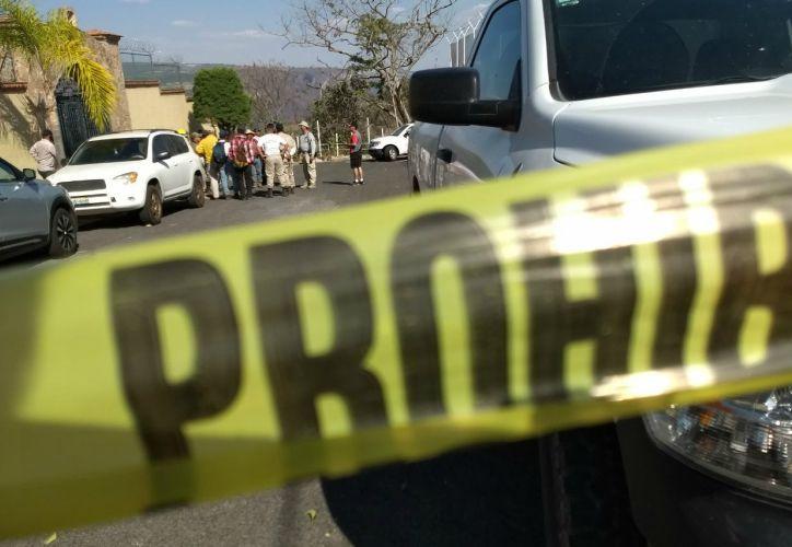 La policía levantó el cuerpo alrededor de las 15 horas. (NTE Guadalajara)