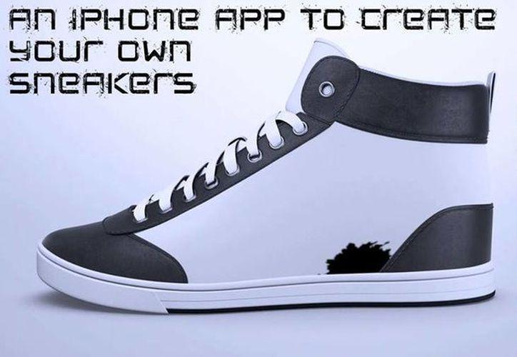 Los ShiftWear son unos innovadores zapatos que pueden cambiarse de diseño desde una aplicación del teléfono móvil. Su costo inicial irá de los 150 a los 350 pesos. (ShiftWear)