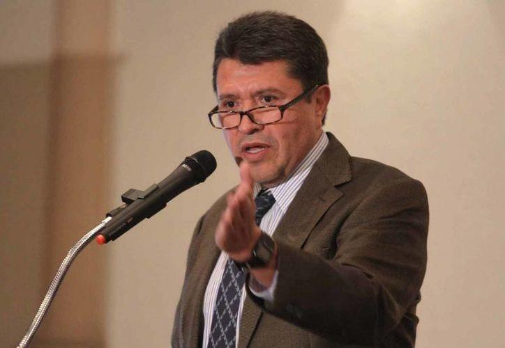 El legislador zacatecano Ricardo Monreal Ávila, en imagen de archivo. (Notimex)