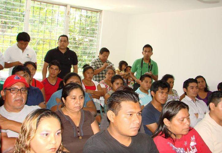 Los beneficiarios de los recursos son los ciudadanos que presentaron sus proyectos para integrar al Programa de Apoyos Productivos. (Manuel Salazar/SIPSE)