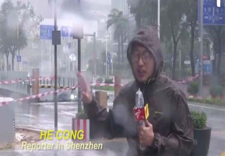 Nadie resultó herido en el suceso. (Foto: Captura del video)