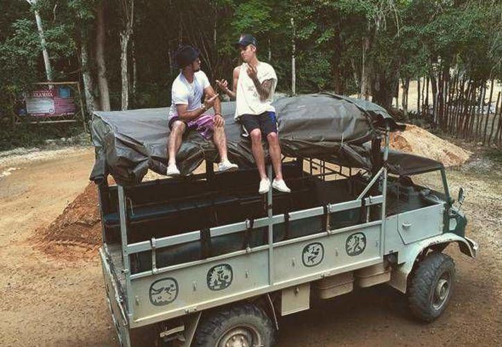 El cantante juvenil estuvo en dos atractivos que mantienen un crecimiento constante como es el ecoturismo. (Instagram/Justin Bieber)