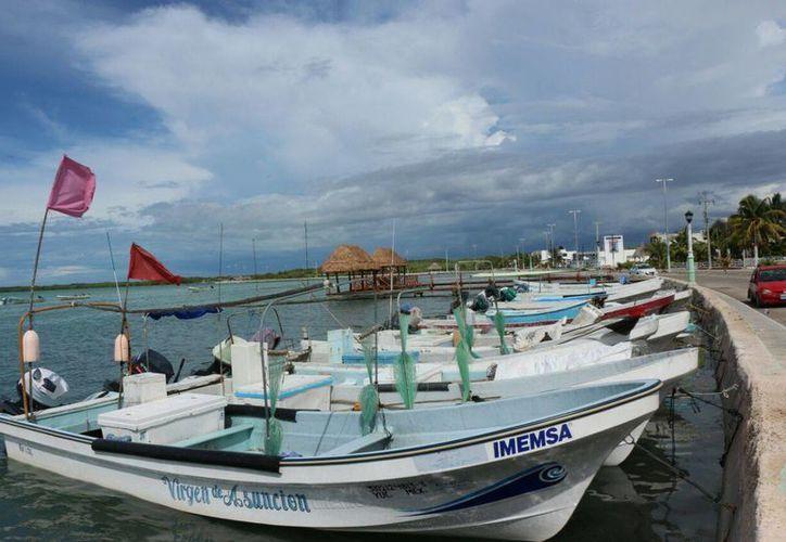 Bernardo Crespo Silva, capitán regional de puertos, dijo que hasta el momento las condiciones climáticas no afectan a los barcos en Yucatán. (Gerardo Keb/Milenio Novedades)