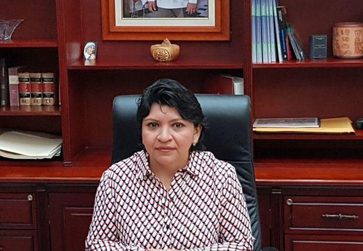 La maestra Martha Leticia Góngora Sánchez es la nueva Secretaria General de Gobierno. (Cortesía)