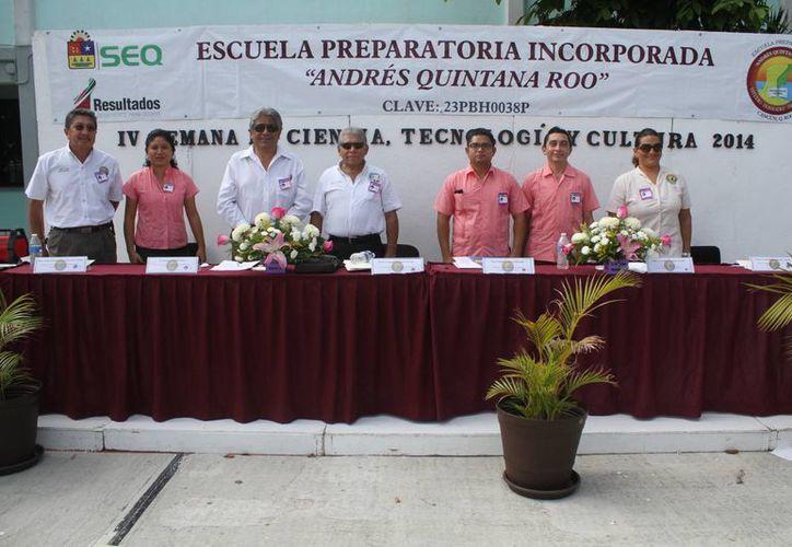 """Presentan la cuarta edición de la """"Semana de Ciencia, Tecnología y Cultura 2014"""". (Sergio Orozco/SIPSE)"""