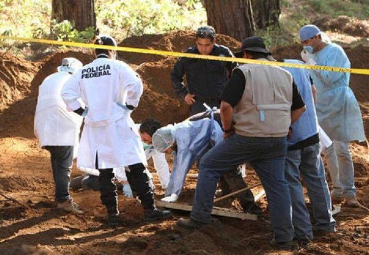El subprocurador de la PGR destacó que de los 193 cuerpos exhumados en San Fernando sólo han identificado a los restos de 33. (Milenio)