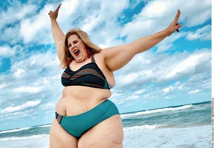 Varios hicieron comentarios negativos sobre el peso y la apariencia de O'Brien y algunos otros criticaron a Gillette por promover un tipo de cuerpo poco saludable. (Agencia Reforma)