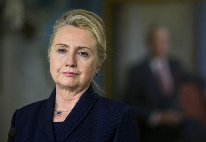 El 15 de diciembre Hillary Rodham Clinton se desvanece y sufre una conmoción cerebral. (Agencias)