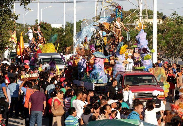 Concluyen las actividades carnavaleras en la Región 228. (Francisco Gálvez/SIPSE)