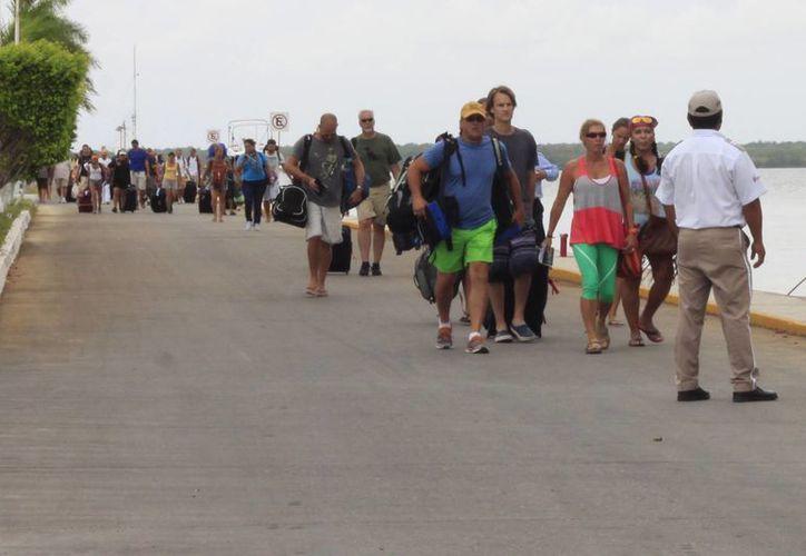 Se espera una gran afluencia de turistas nacionales e internacionales, que dejarán una importante derrama económica. (Harold Alcocer/SIPSE)