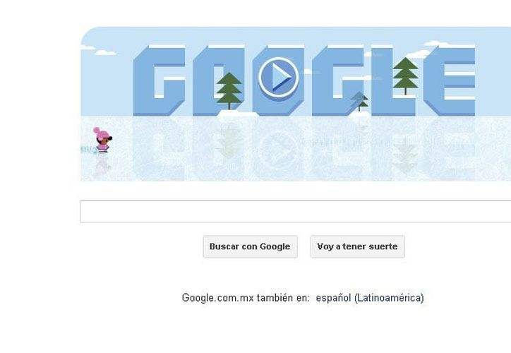 el doodle es un homenaje a Frank Zamboni, el creador de las máquinas que nivelan pistas de hielo que nació el 16 de enero de 1901. (SIPSE.com)